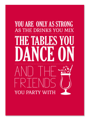 Funny Drinking with Friends Quotes