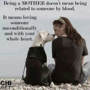 Unconditional love!