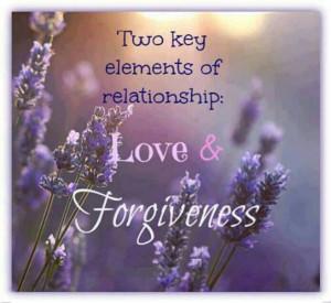 Love and Forgiveness...