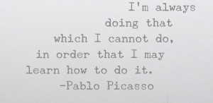Motivation Monday. My homeboy Pablo.