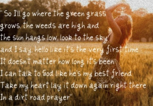 Cute country song lyric quotes