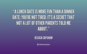 Lunch Date Quotes