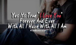 Love You Quotes   Forever And Ever