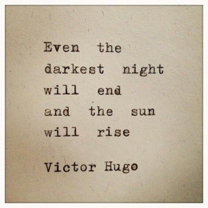 Victor Hugo... one of my favorites