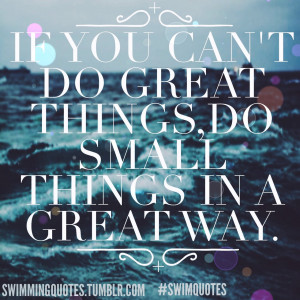 Swimming Quotes HD Wallpaper 6