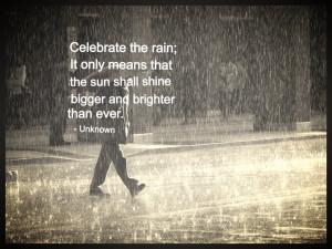 Rainy Day Quote Quotes