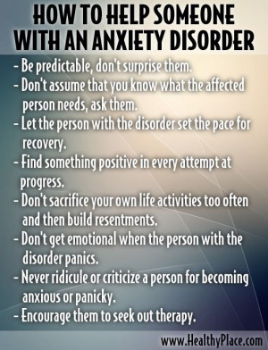 How To Help Someone With Anxiety Disorder Pictures, Photos, and Images ...