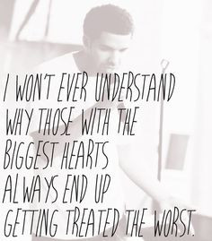... Biggest Heart, Dont Understands Quotes, Big Heart Quotes, Criti Quotes