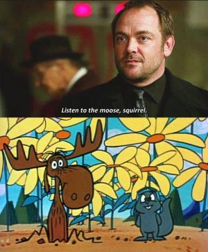 Listen to Moose, Squirrel