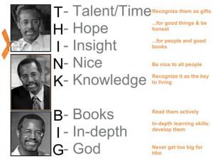 THINK BIG - Dr. Ben CarsonThinking Big, Mr. Big, Big Ben, Think Big
