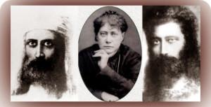Helena Petrovna Blavatsky ( 1831 – 1891)'s Masters