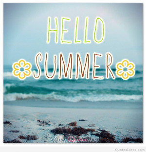 Happy summer cards, images with messages and quotes