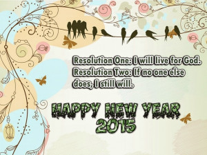 Happy New Year 2015 Resolutions Quotes | New Year Quotes
