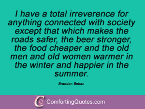 Brendan Behan Sayings