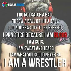 Wrestling Motivation