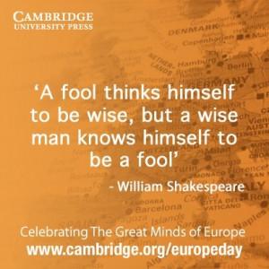 William #Shakespeare quote #EuropeDay