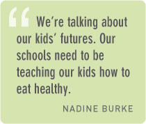 How can we teach students about good food?