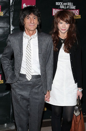 Ronnie Wood Girlfriend