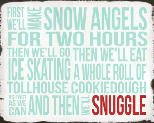 Elf Quote First we will make snow angels for two by ADoseOfDani, $12 ...