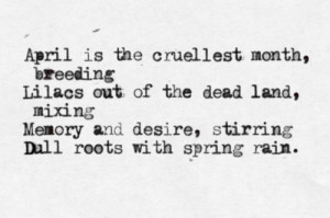 typewritten #ts eliot #the waste land #poetry #poem