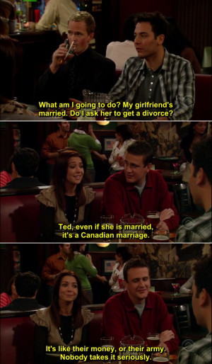 "10 Of The Best ""How I Met Your Mother"" Quotes. I Can't Stop ..."