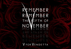 Everyone should watch this movie!!! V for vendetta:)) @April Cochran ...