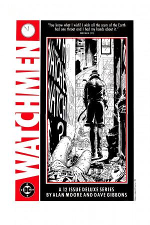 Rorschach 1986 Watchmen Promo Poster