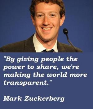 Mark zuckerberg famous quotes 2
