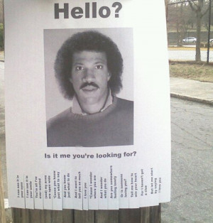 Missing: Lionel Richie