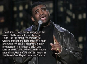 Patrice O'Neal On Littering & Becoming A Wanted Man