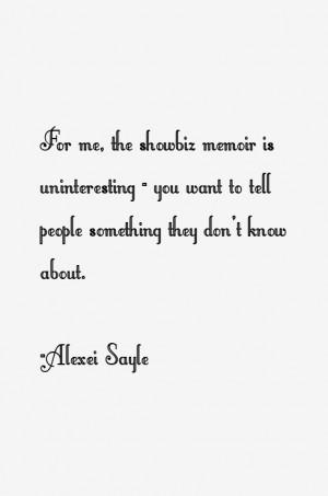 View All Alexei Sayle Quotes