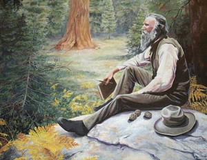 John Muir's quotes and writings about his spiritual connection with ...