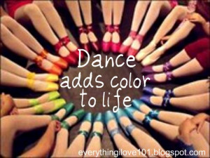 Inspirational quotes & pictures: Dance edition