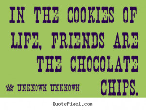 Quote About Friends and Chocolate