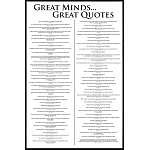 Title 101 Greatest Movie Quotes List Art Poster Print