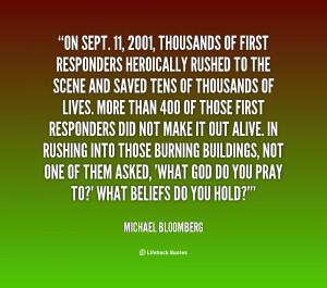 September 11 2001 Quotes