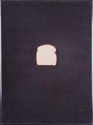 Jasper Johns - bread 1969