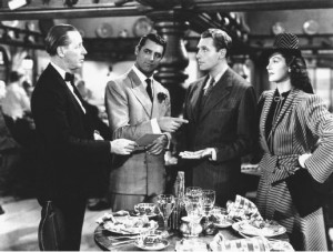 And here are some quotes on His Girl Friday :