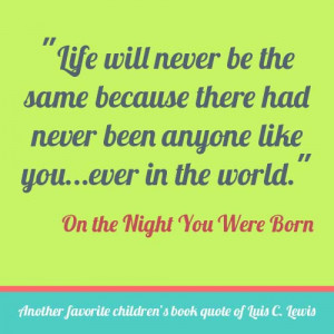 On the Night You Were Born