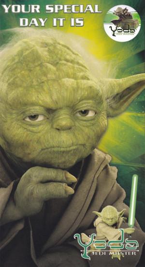 Star Wars Yoda Birthday
