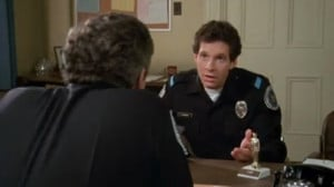 Steve Guttenberg as Cadet Carey Mahoney in Police Academy (1984)