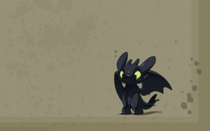 toothless how to train your dragon stitch 1680x1050 wallpaper Art HD ...