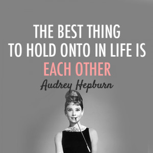 ... for this image include: audrey hepburn, quote, love, life and quotes