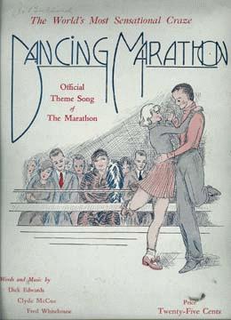 Marathon Dancing 1920