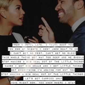 Beyoncé ft. Drake Mine