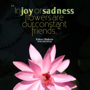 Quotes About Friends and Flowers