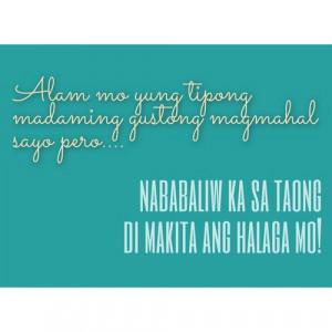 Best Tagalog Love Banat Quotes