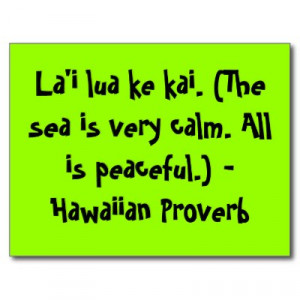 Hawaiian Quotes About Life