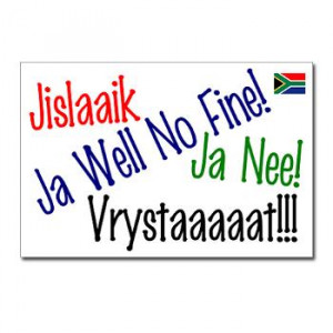Gifts of South Africa - Funny Sayings 1