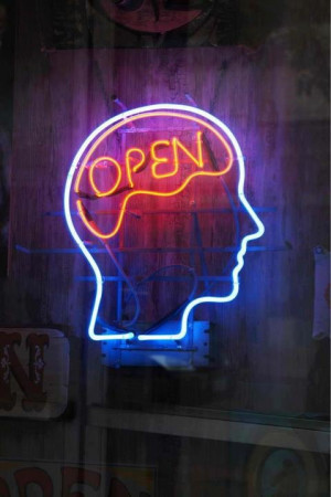 minded, neon sign: Life Quotes, Inspiration, Lights Art, Brain Injury ...